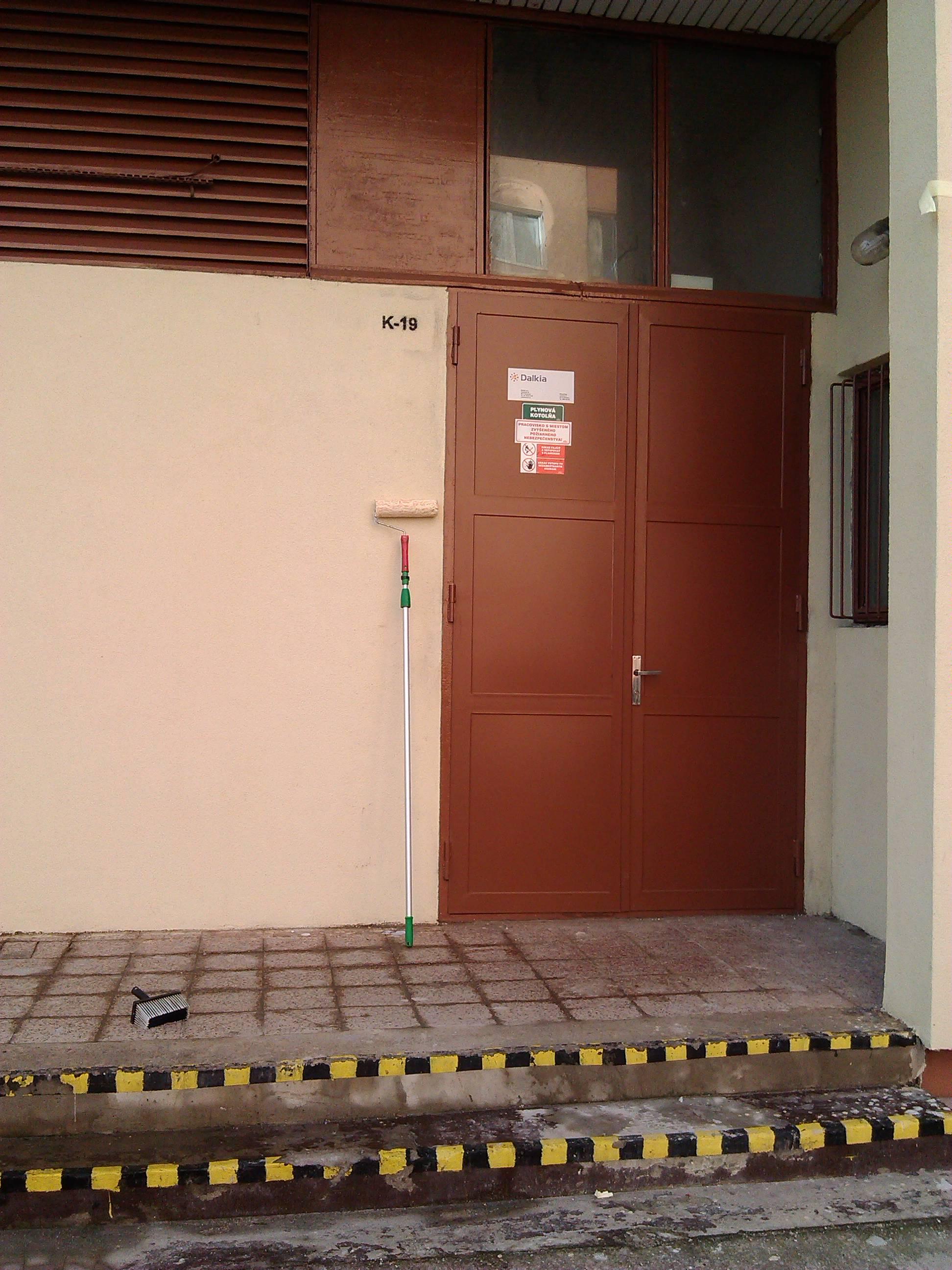 Ochrana fasády - antigrafitový náter