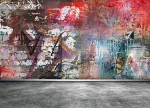 odstraňovanie grafitov ze zdi